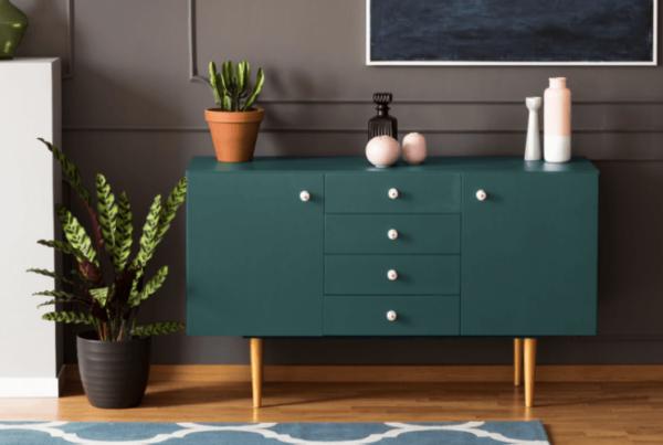 bold and modern interior decorating and design portfolio image