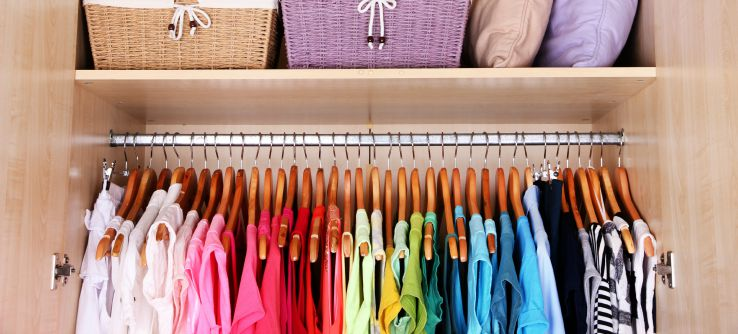 How a Professional Organizer can Help You Organize Your New Home Perks of Becoming a Professional Organizer Closet 1