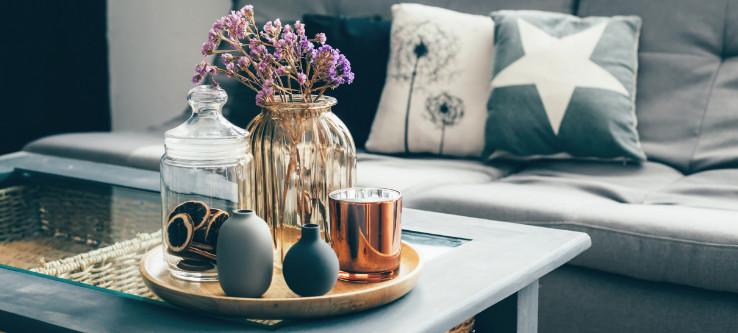 interior decor for temporary spaces