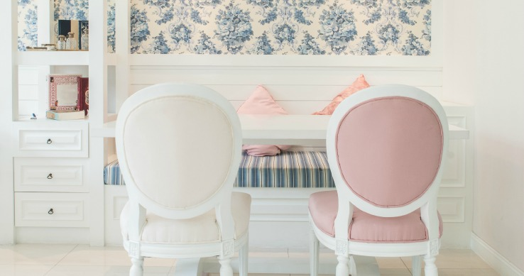 Design Blog Creative Ways to Use Wallpaper- Furniture