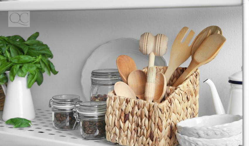 professional organizing of kitchen