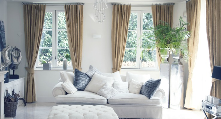 Design Blog- Temporary Space Design Curtains