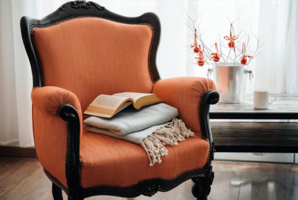 interior decorator armchair