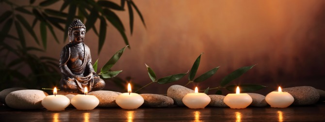 Meditate with Feng Shui Candles