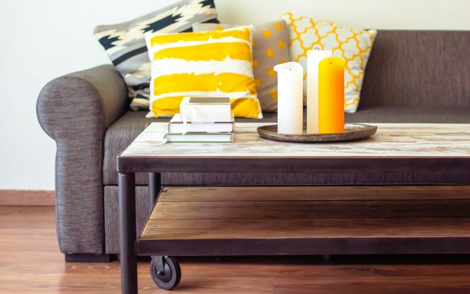 Stylish home staging design