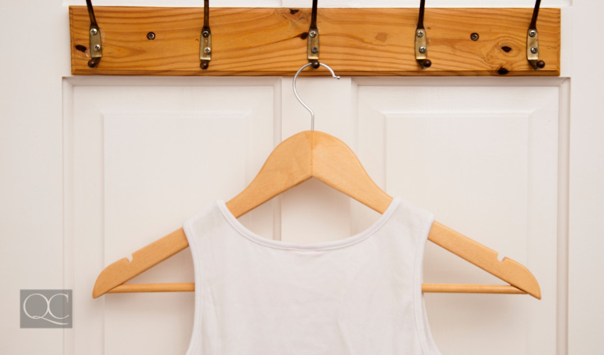 home closet door maximize storage space with hangers