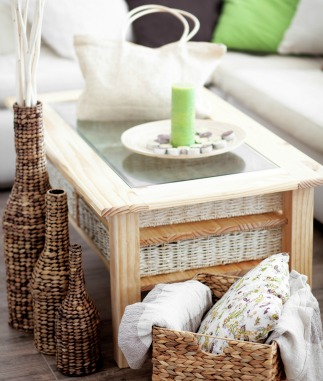 Coffee table with secret storage compartment and hidden storage solutions for the home