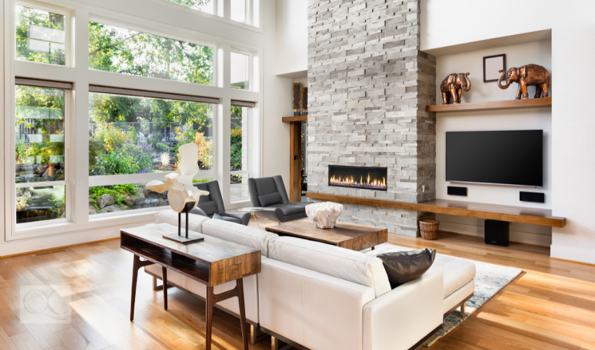 natural light for interior decorating jobs is a eco-friendly way to open up a home