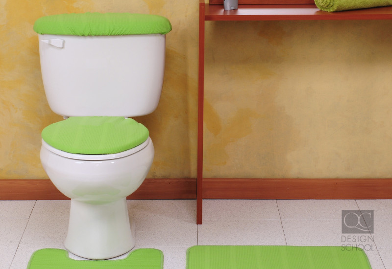 toilet seat cozies are a terrible interior decorating trends