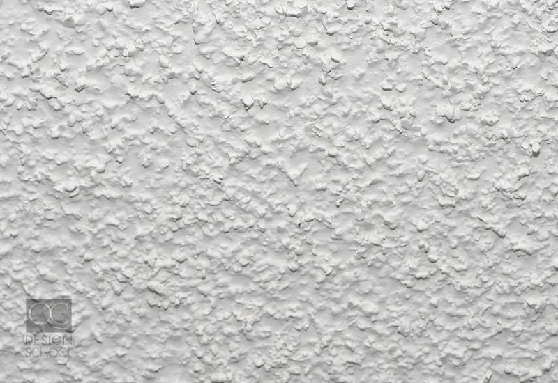 popcorn ceilings is a bad interior design decision