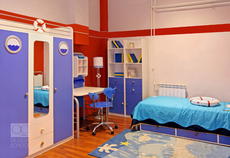 nautical themed room interior decorating