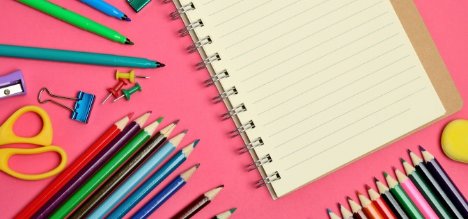 Staying organized keeps your course work on track