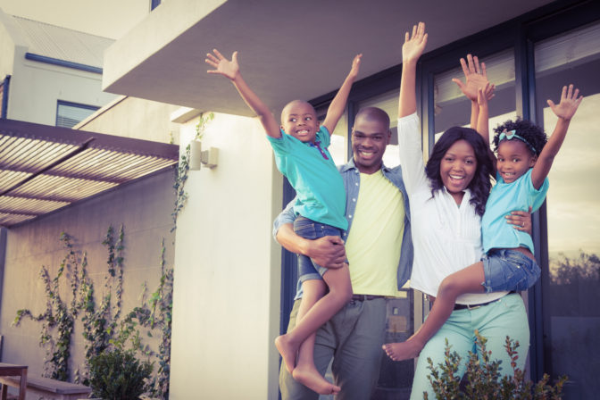 happy family clients