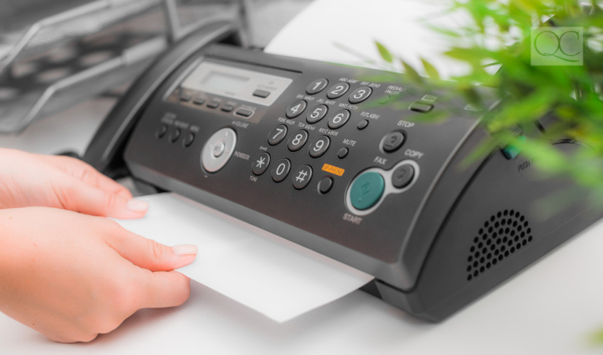 fax machine you don't need anymore in an organized home