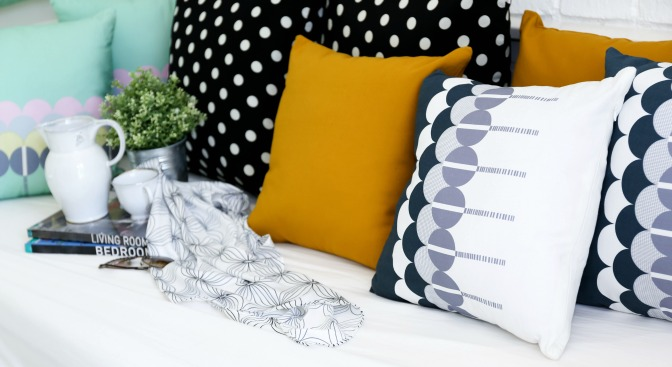 Whose pillows are those? Tag the designer in your pin!
