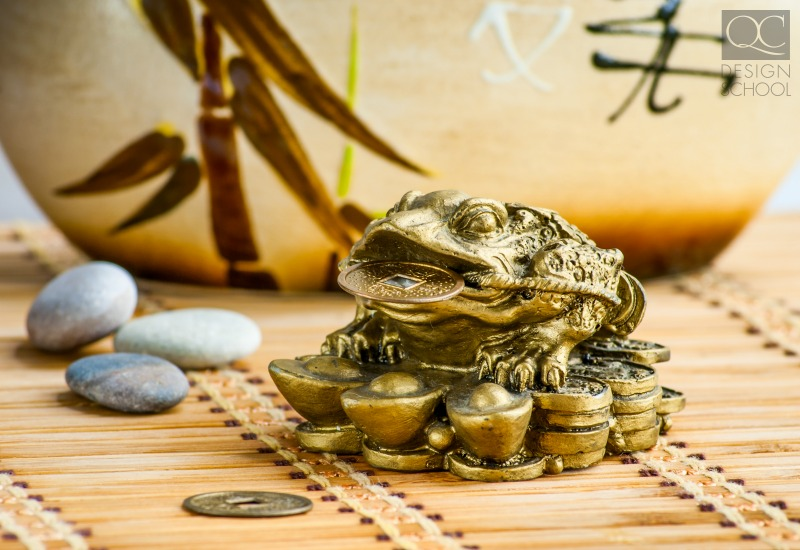 ucky frog with money in mouth feng shui