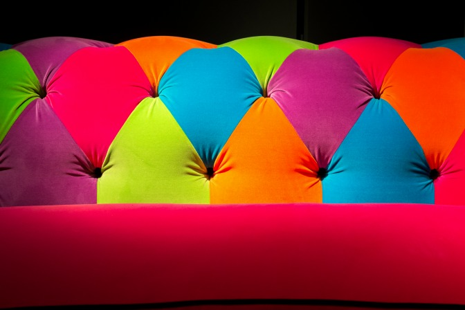 Fall decor fails colorful couch