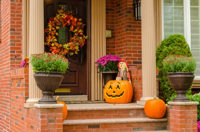 fall interiors curb appeal