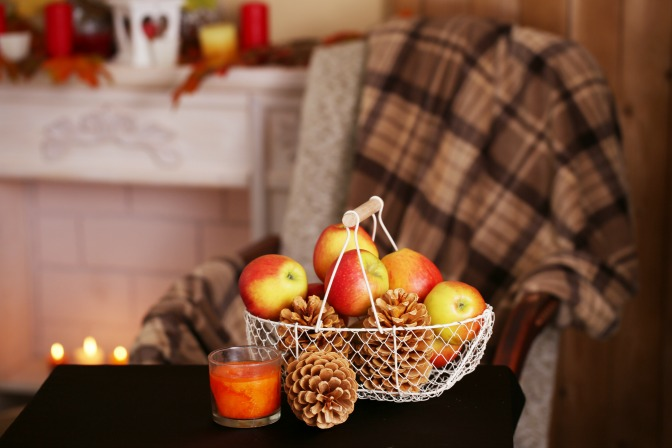 fall interiors warm up with textiles