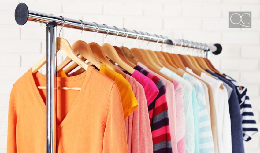 closet hanging rack