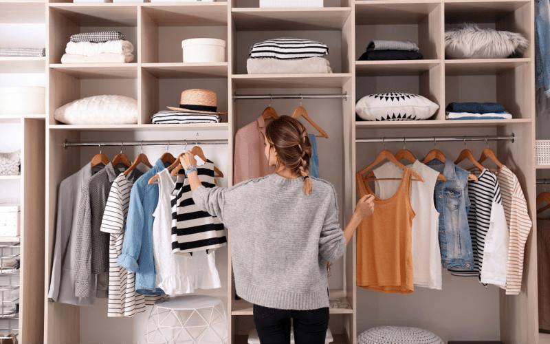 professional organizing course closet