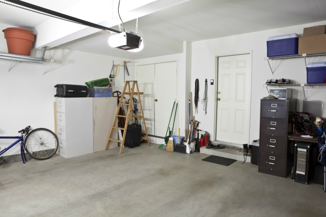 Organizing Large Storage Spaces Garage