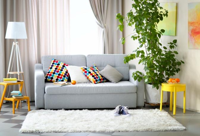 Yellow Balanced Easy Feng Shui Room Design