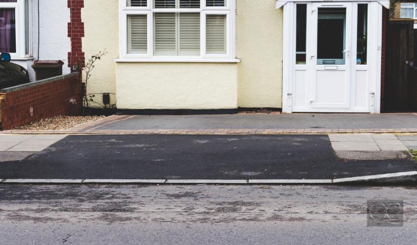 bad driveway curb appeal