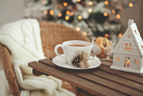 home staging decor for holiday home sale