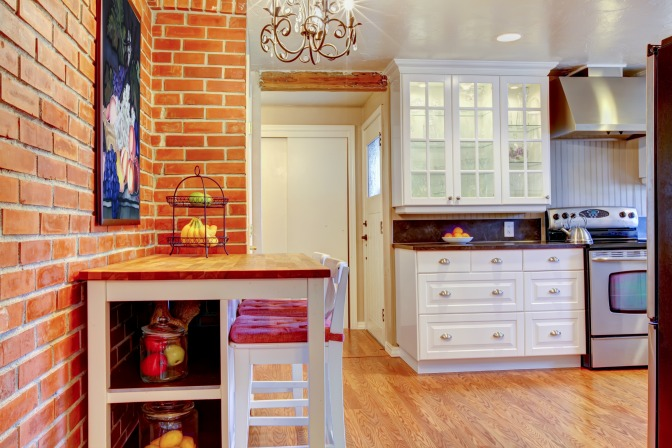 Jane Lockhart on how to design a kitchen interior with hardwood floors