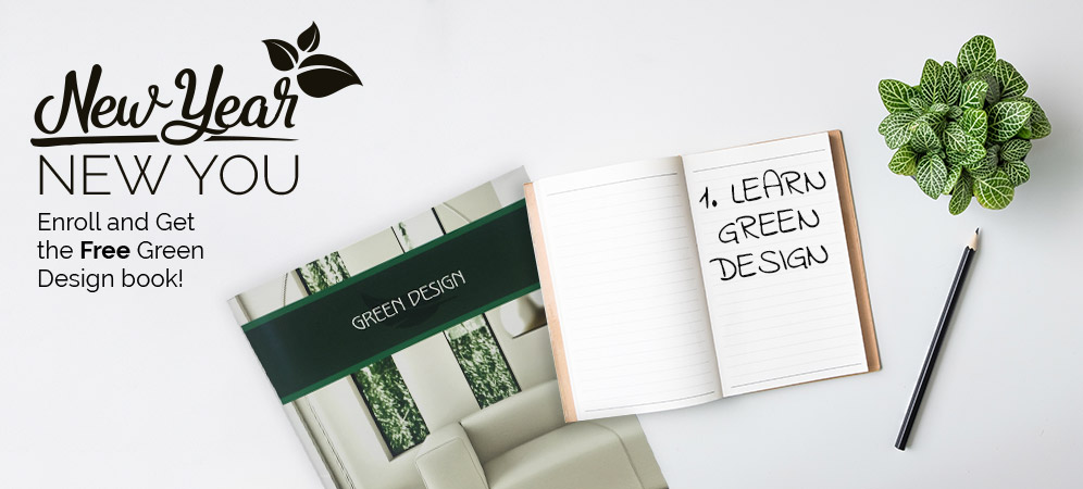 Enroll & Receive the Green Design Book for Free!
