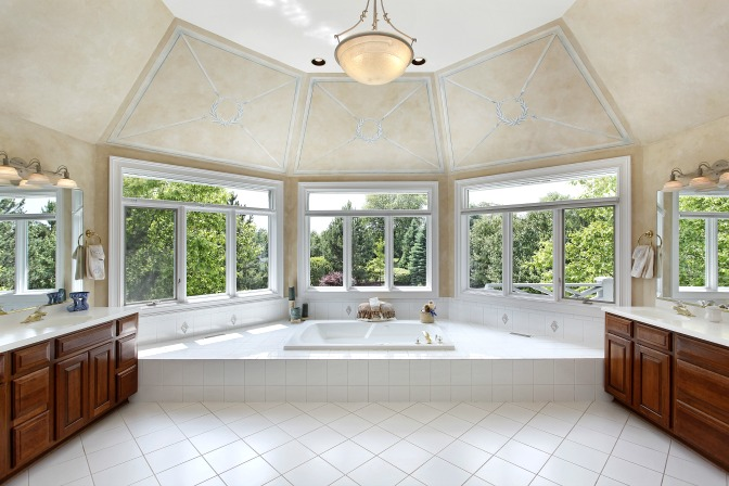 Use natural light for home staging clients