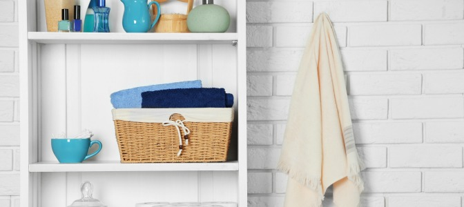 stylish organizing baskets to clean up a space