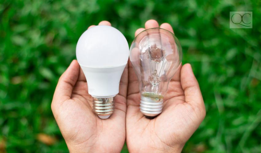 LED vs fluorescent lighting - interior decorating