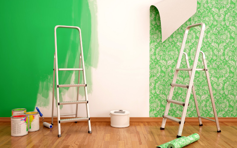 Paint vs. Wallpaper: An Interior