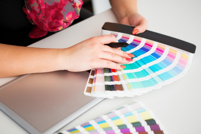 Color theory lessons from online home staging courses