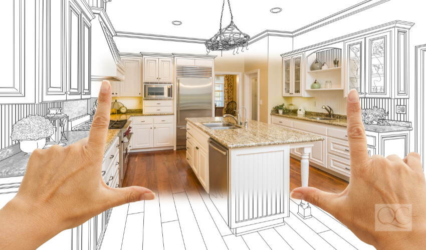 kitchen blueprint for interior designers