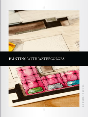 Painting with Watercolors Course Textbook Cover