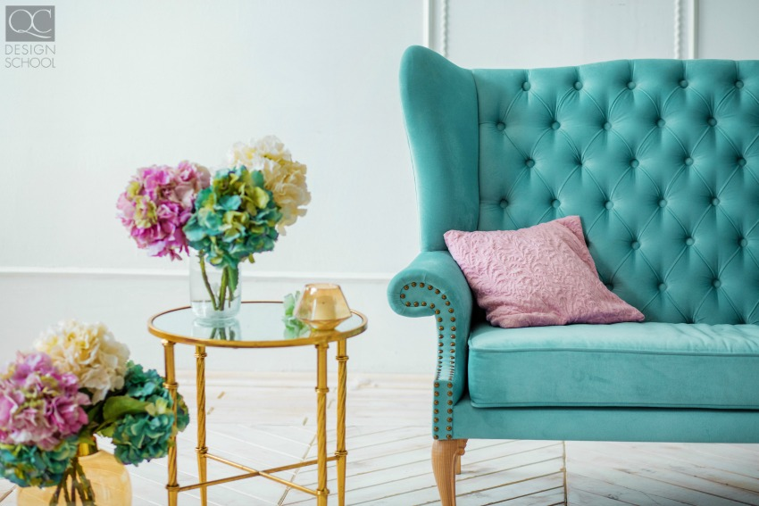 Interior decor color schemes and theory