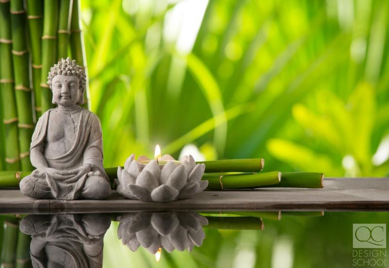 feng shui room design buddha