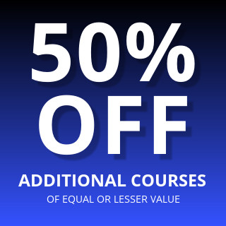 50% Off Online Design Courses