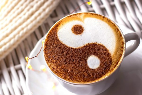 yin yang coffee feng shui feature