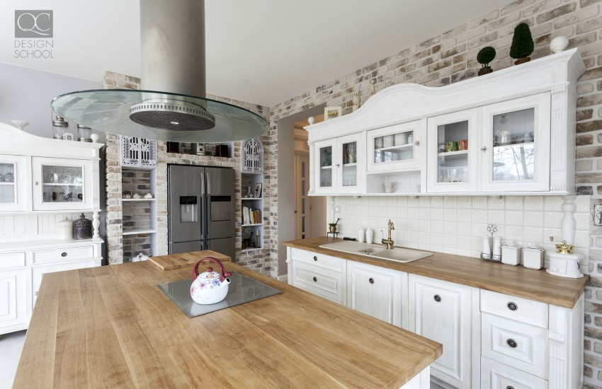 Kitchen organized by professional designer