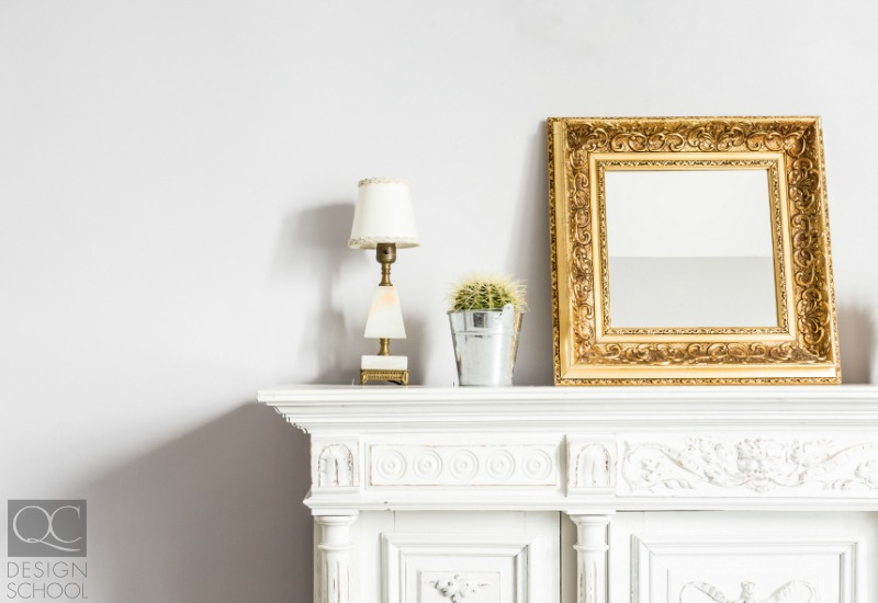 decorate fireplace mantel