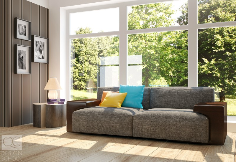 allowing more light to flood a room as part of home decor