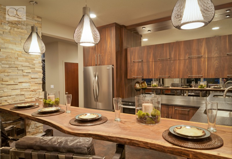 rustic and detail oriented kitchen design strategies