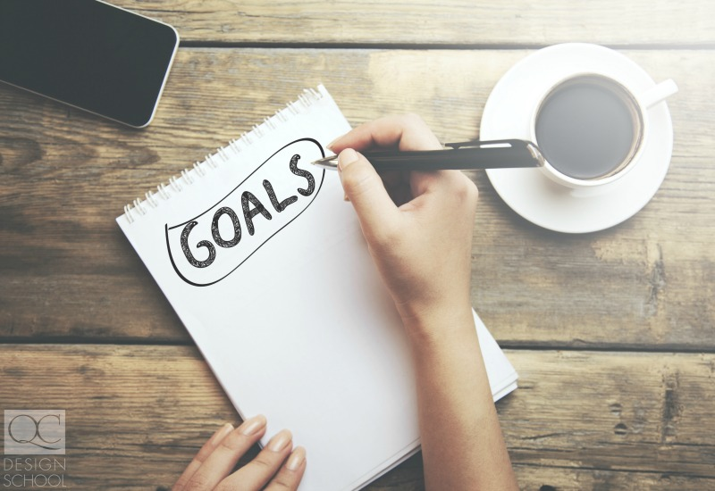 set study goals for your course