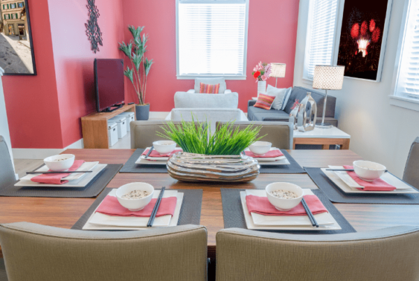 dining room home staging certification