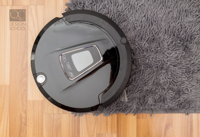 smart robot roomba-like vacuum