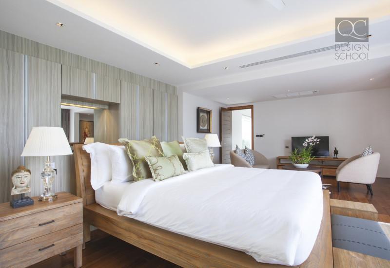 this bedroom follows feng shui design principles